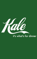 Kale shirt in green