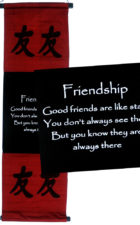 Scroll Friendship Red
