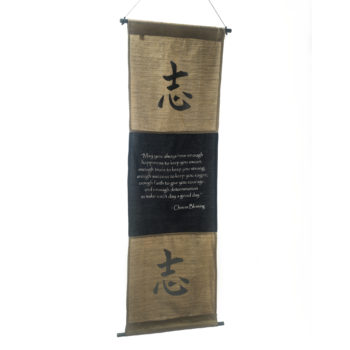 Scroll chinese blessing