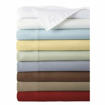 bamboo sheets set stack