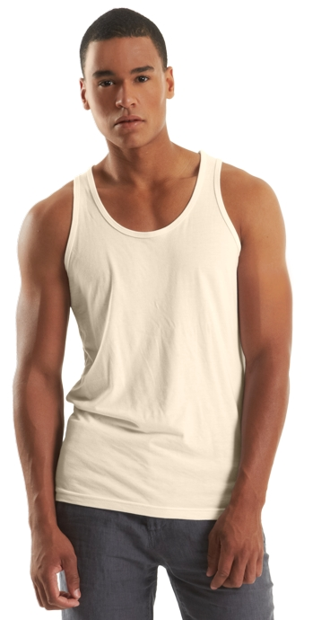 Bamboo Tank Top For Men 70 30 Bambu Batu