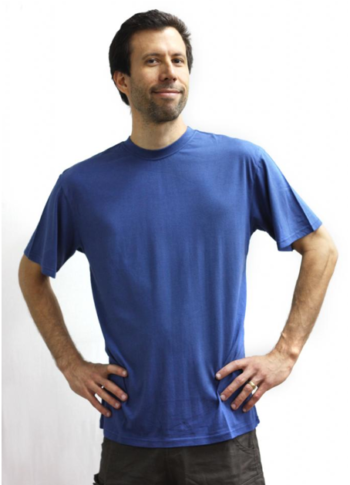 Bamboo t-shirt Royal blue