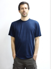 Bamboo t-shirt navy
