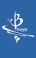 B happy Bamboo tee in blue