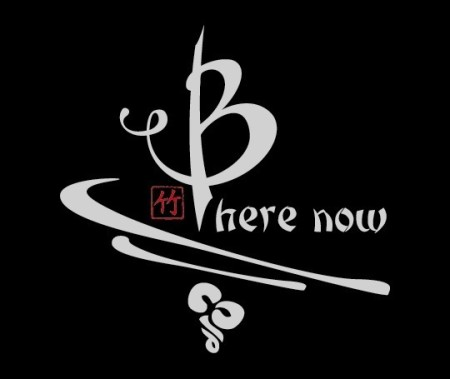 Be Here Now bamboo shirt in black