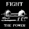 Fight the Power bamboo shirt logo