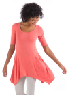 Marlow tunic Coral