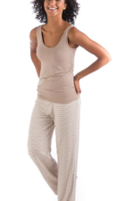 Laura Bamboo Lounge Pants sand mirage