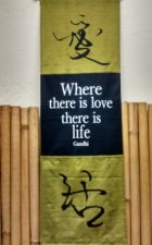 Scroll Gandhi Where There Is Love
