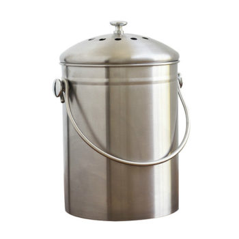 Stainless Steel compost can
