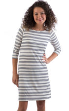 yala rita dress anchor stripe