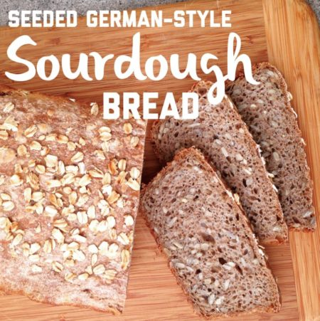 Seeded German Sourdough Bread