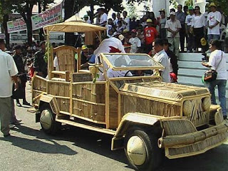 The bamboo mobile: Roll with it, baby