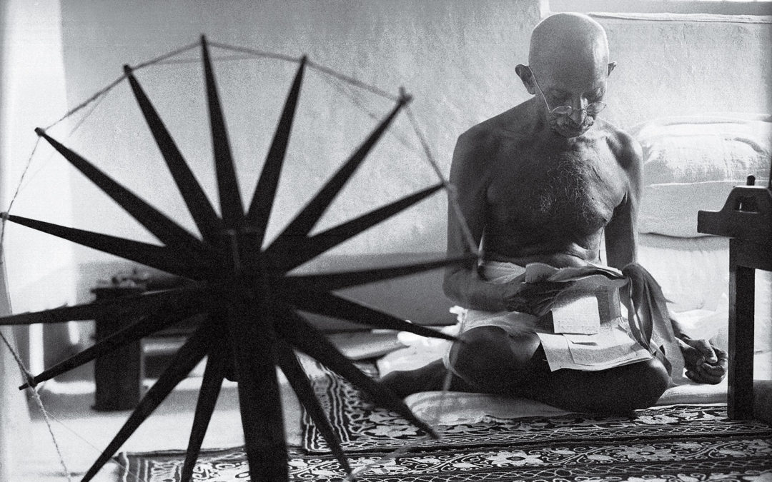 Gandhi on the Economy of Cotton