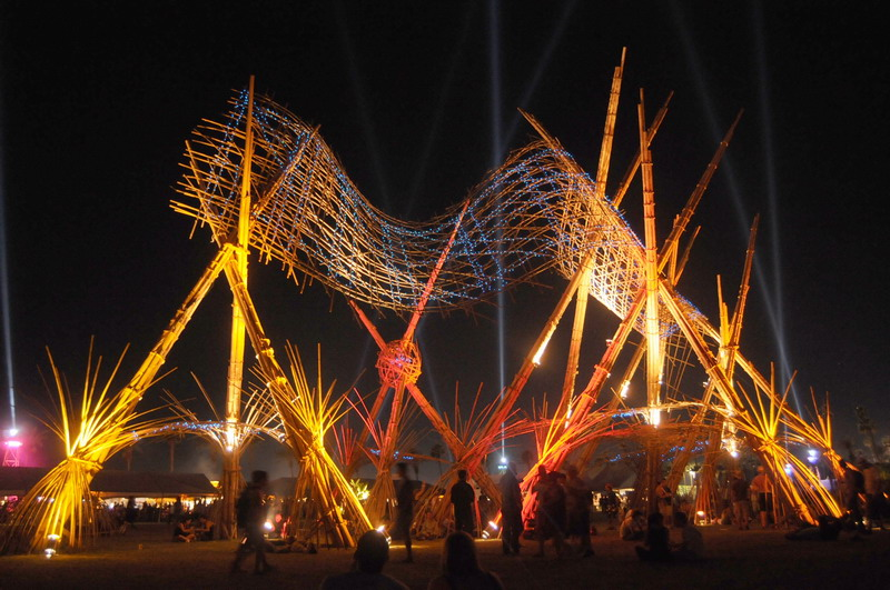 Bamboo DNA: Sustainable Structures, Sculptures and Stages