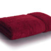 bamboo towel bordeaux