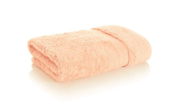 bamboo towel light coral