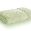 bamboo towel light green