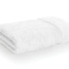 bamboo towel white