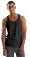 Mens Bamboo Tank Top Black