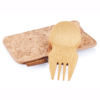 Bamboo Spork and cork case