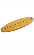 Surfboard bamboo cutting board