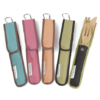 To Go ware bamboo utensil set