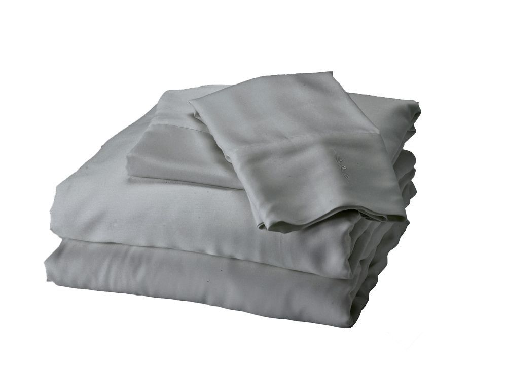 Bamboo sheet set platinum grey