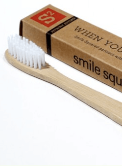 Bamboo Toothbrush close up