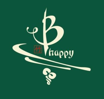 B Happy bamboo tee green
