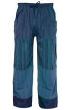 Fair Trade Cotton Lounge Pants blue