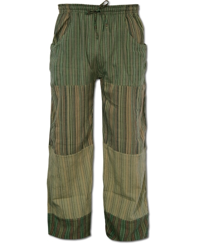 Fair Trade Cotton Lounge Pants green