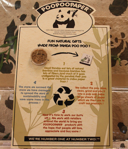Panda Poo Paper: Grin and Bear it!