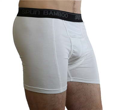 Spun Boxer Briefs White
