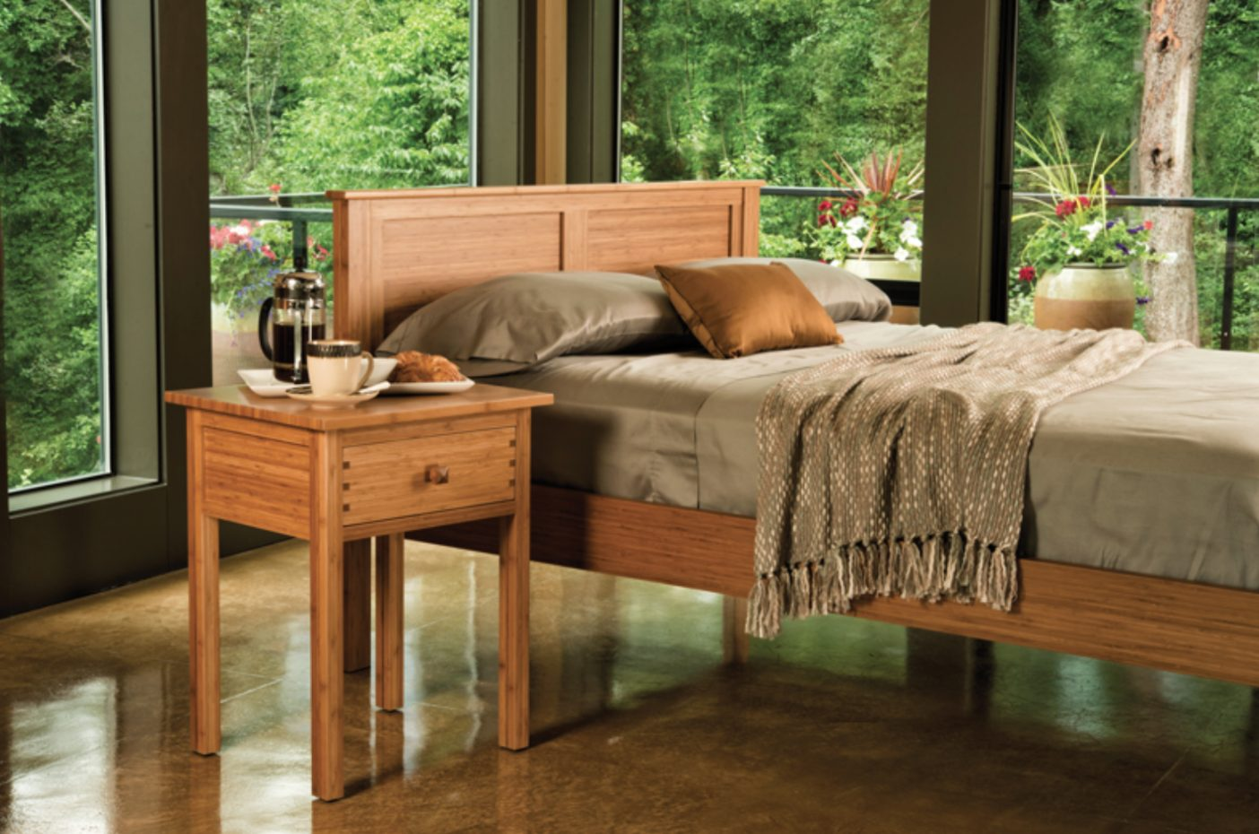 Greenington Bamboo Bed