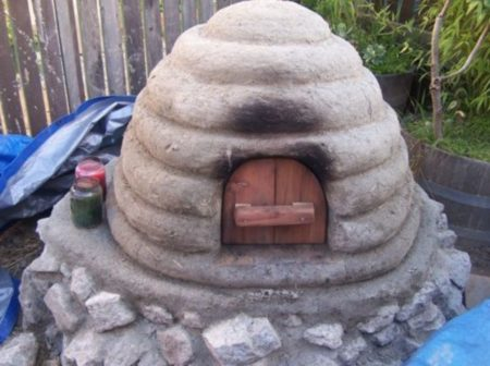 Mudflower Creations Cob Oven