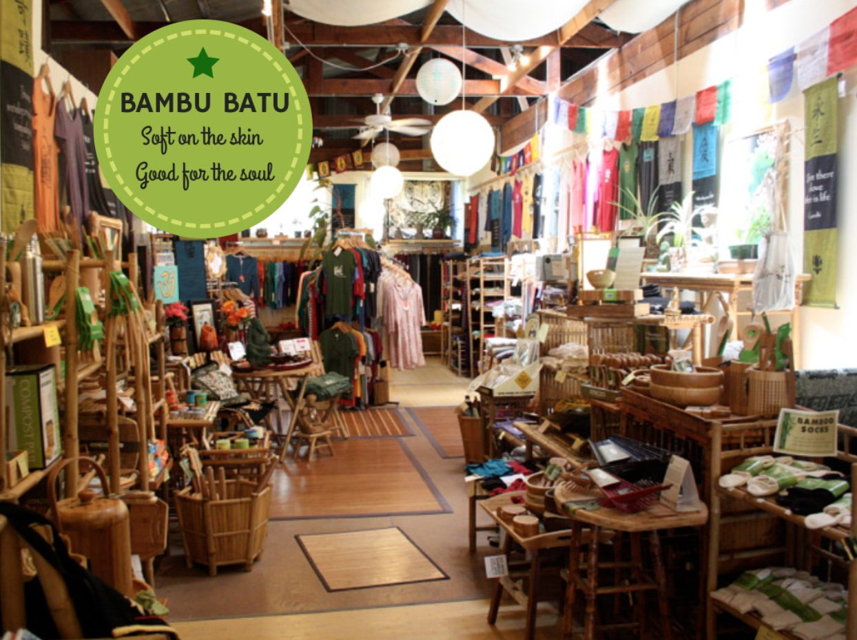 Bambu Batu, the original bamboo clothing store