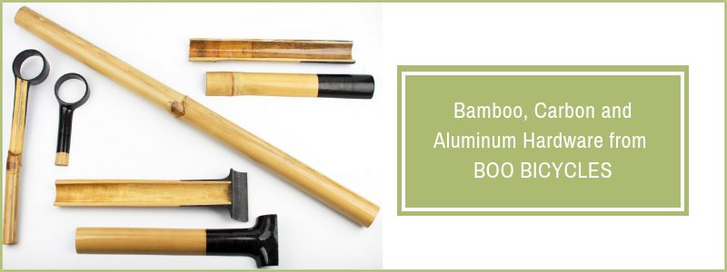 Bamboo hardware from Boo Bicycles