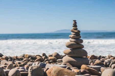 Better living with stacked rocks and Feng Shui
