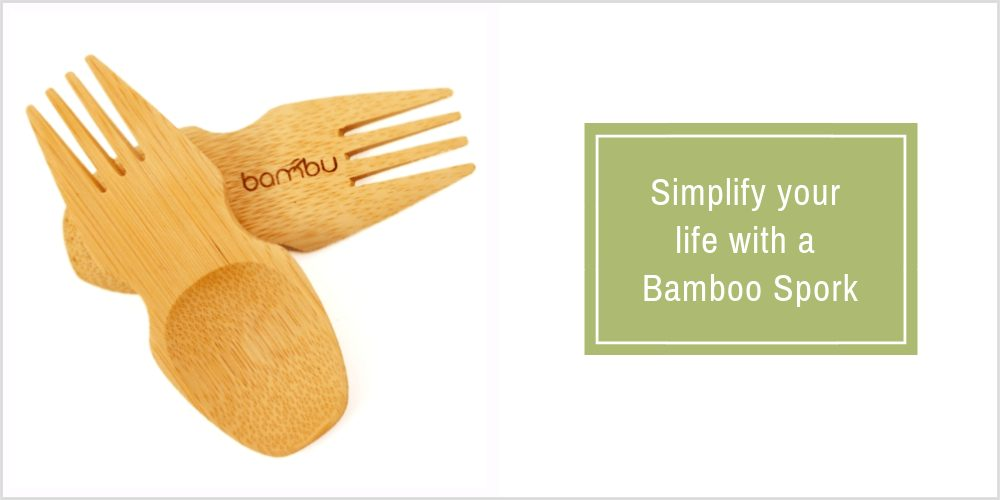 Bamboo Spork from Amazon