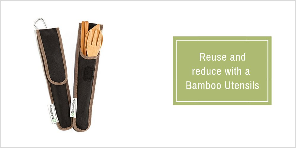 Bamboo Utensils on Amazon