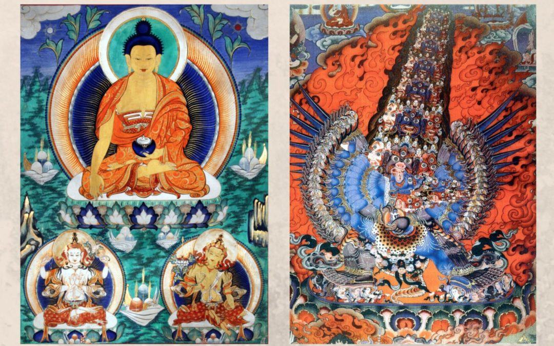 Buddhist Thangka Paintings: Meaningful and Sublime