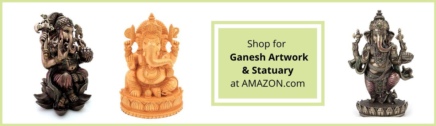 Ganesh art at Amazon