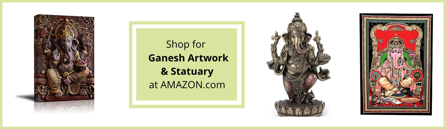 Ganesh art on Amazon