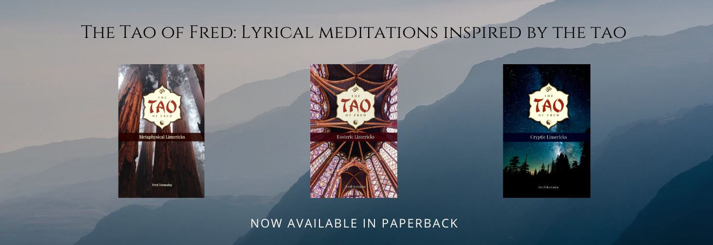 Tao of Fred paperback limerick banner
