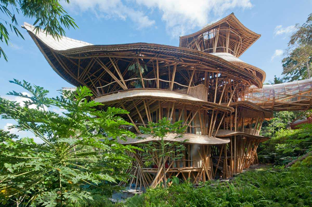 Can I Build A Home From Bamboo Yes Bamboo Houses Are Everywhere Bambu Batu