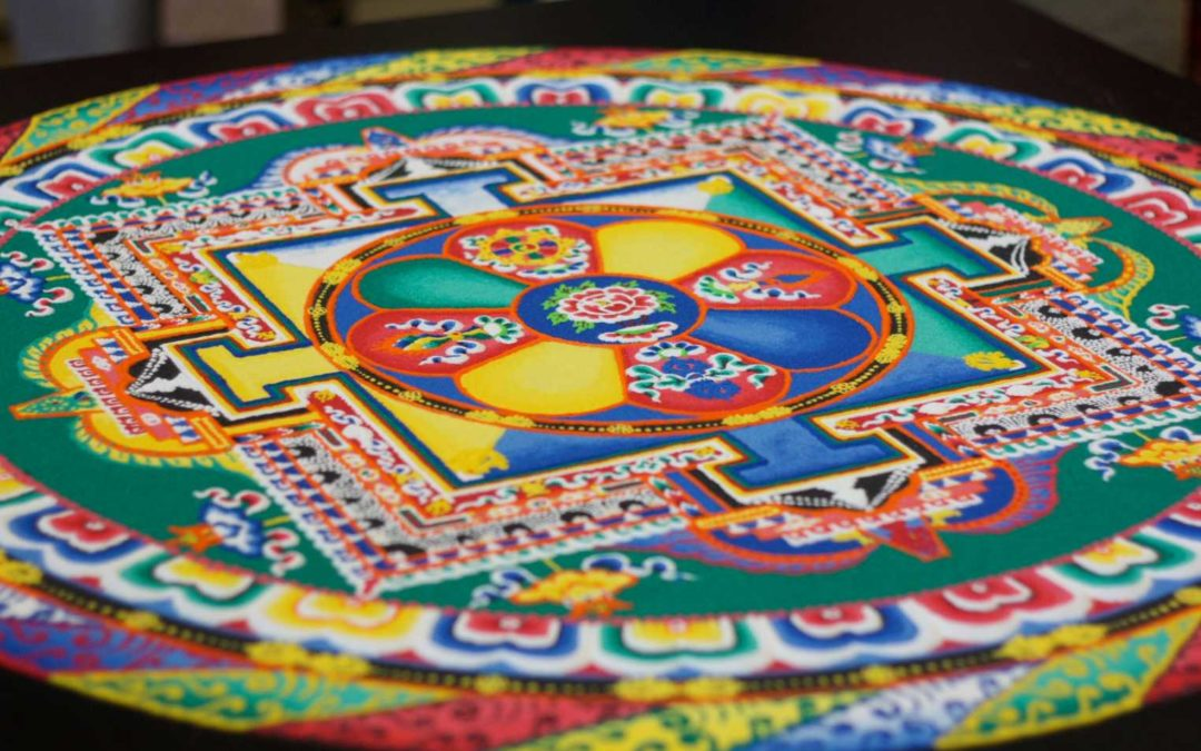 Tibetan Buddhist Sand Mandalas and Non-attachment