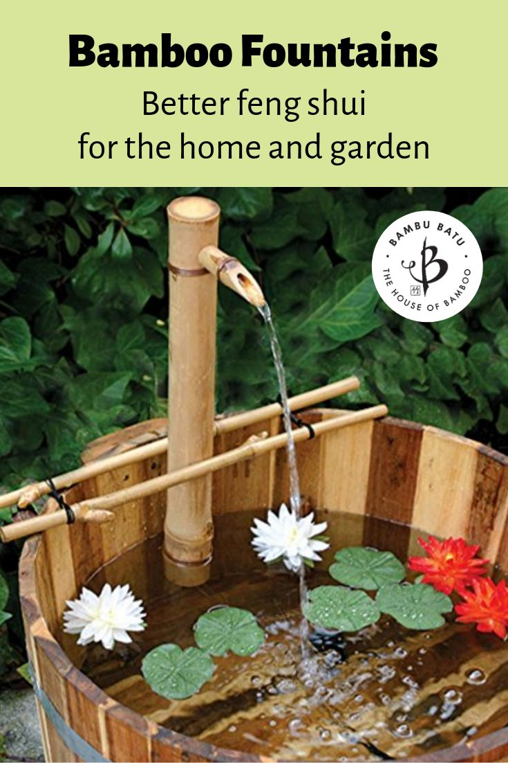 Bamboo fountains pin