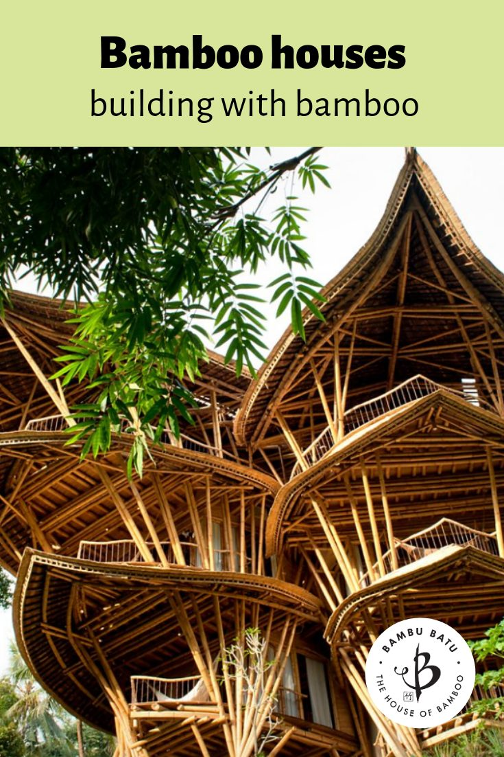 Bamboo houses pin