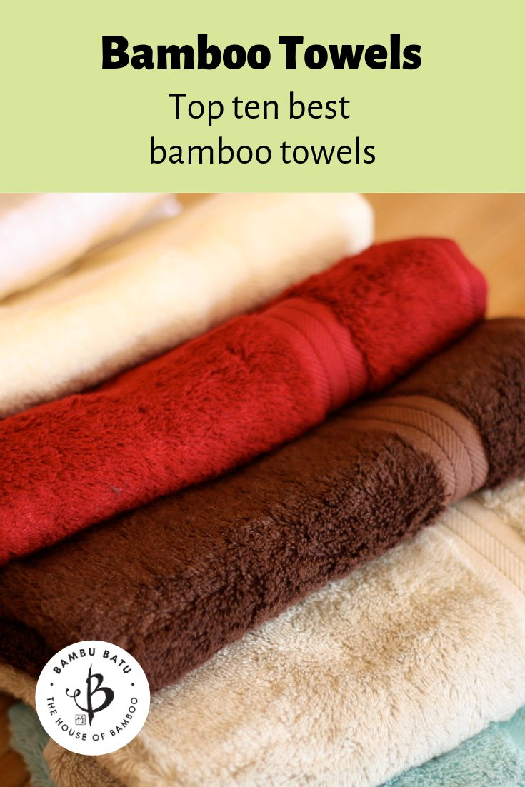 Bamboo towels pin